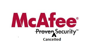 Mcafee Cancelled Security
